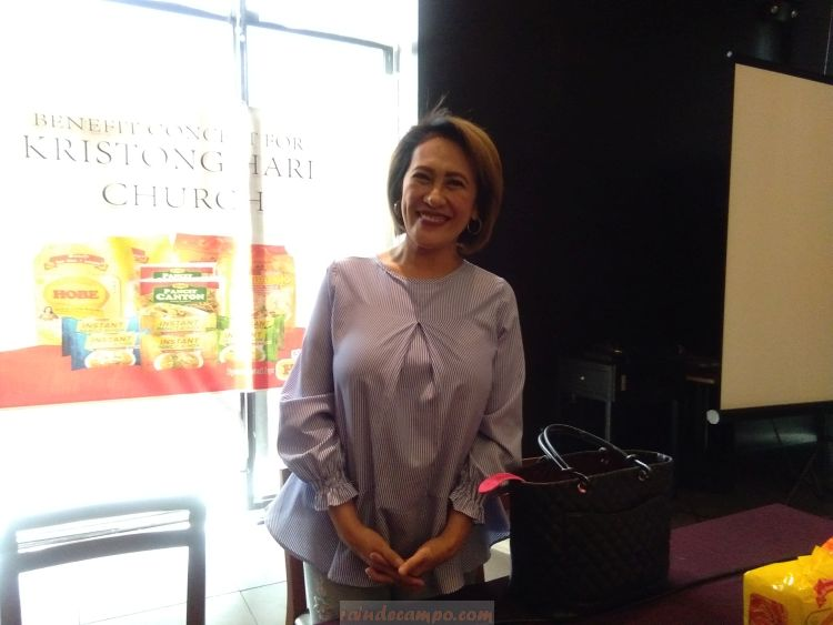 Aiai Delas Alas Rallies Support For Kristong Hari Church Construction Through Araneta Concert