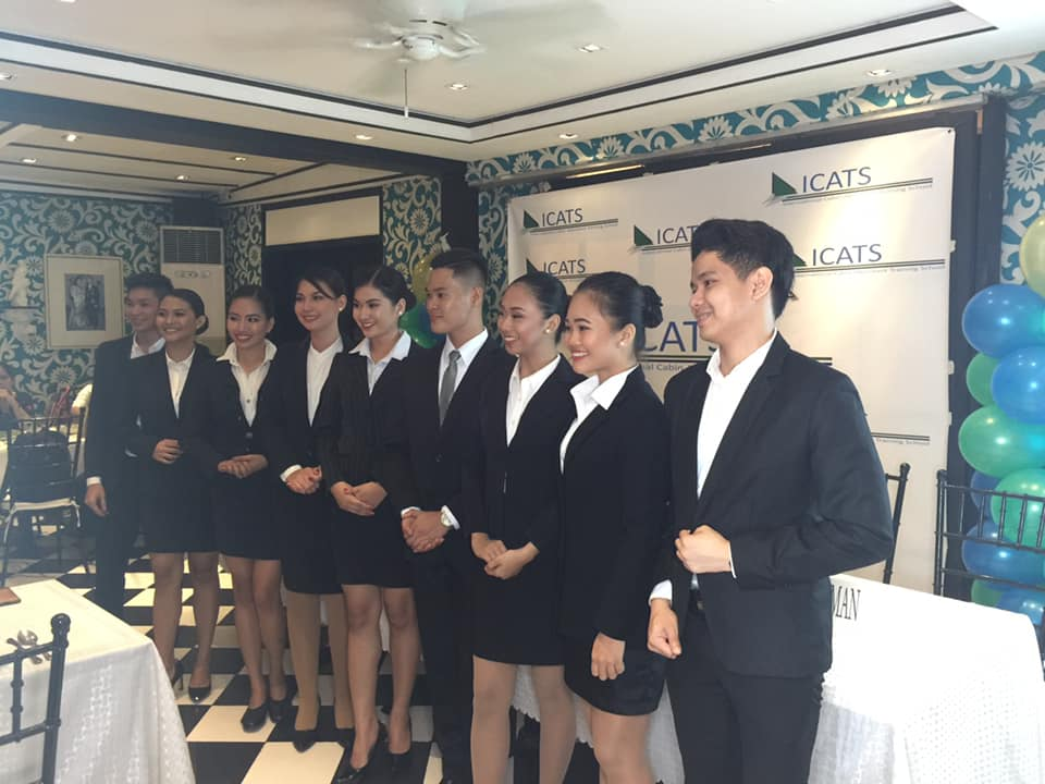 ICATS Flight Attendant School Awards Full Scholarship to 9 Deserving Talents