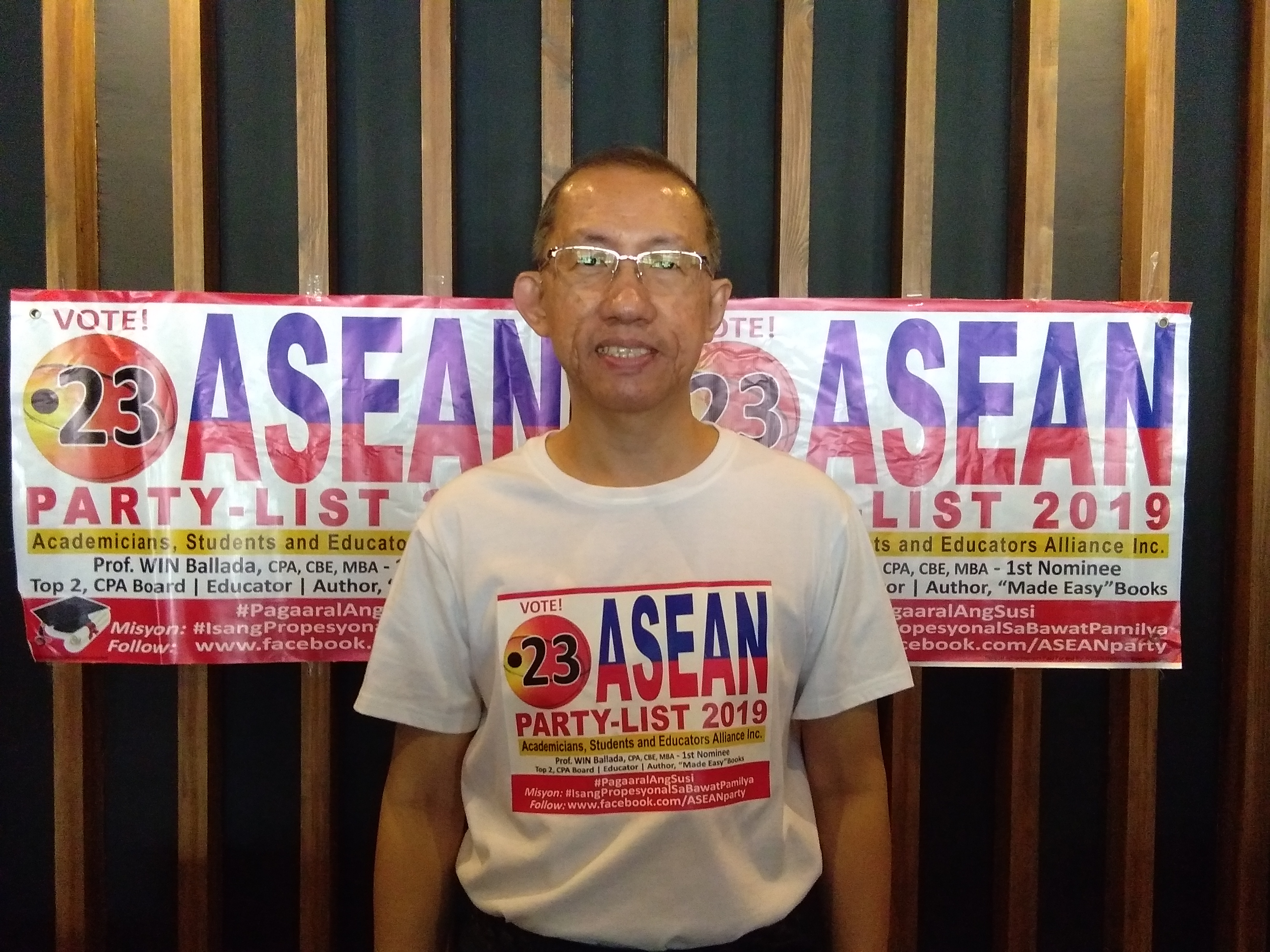 ASEAN Party List Urges Filipino Voters To Invest More on Education