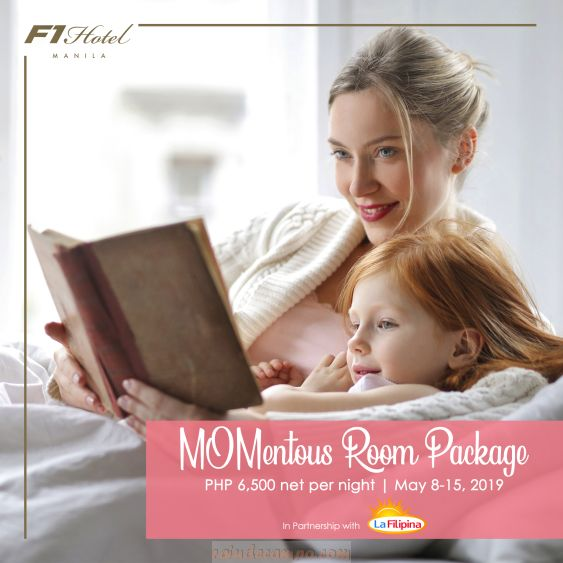 A Mother's Day Surprise at F1 Hotel Manila