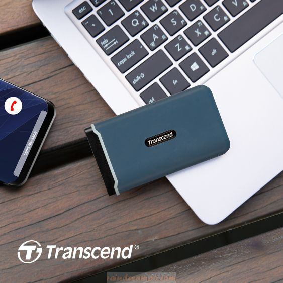 Transcend Unveils ESD350C Portable SSD with Breakneck Transfer Speeds