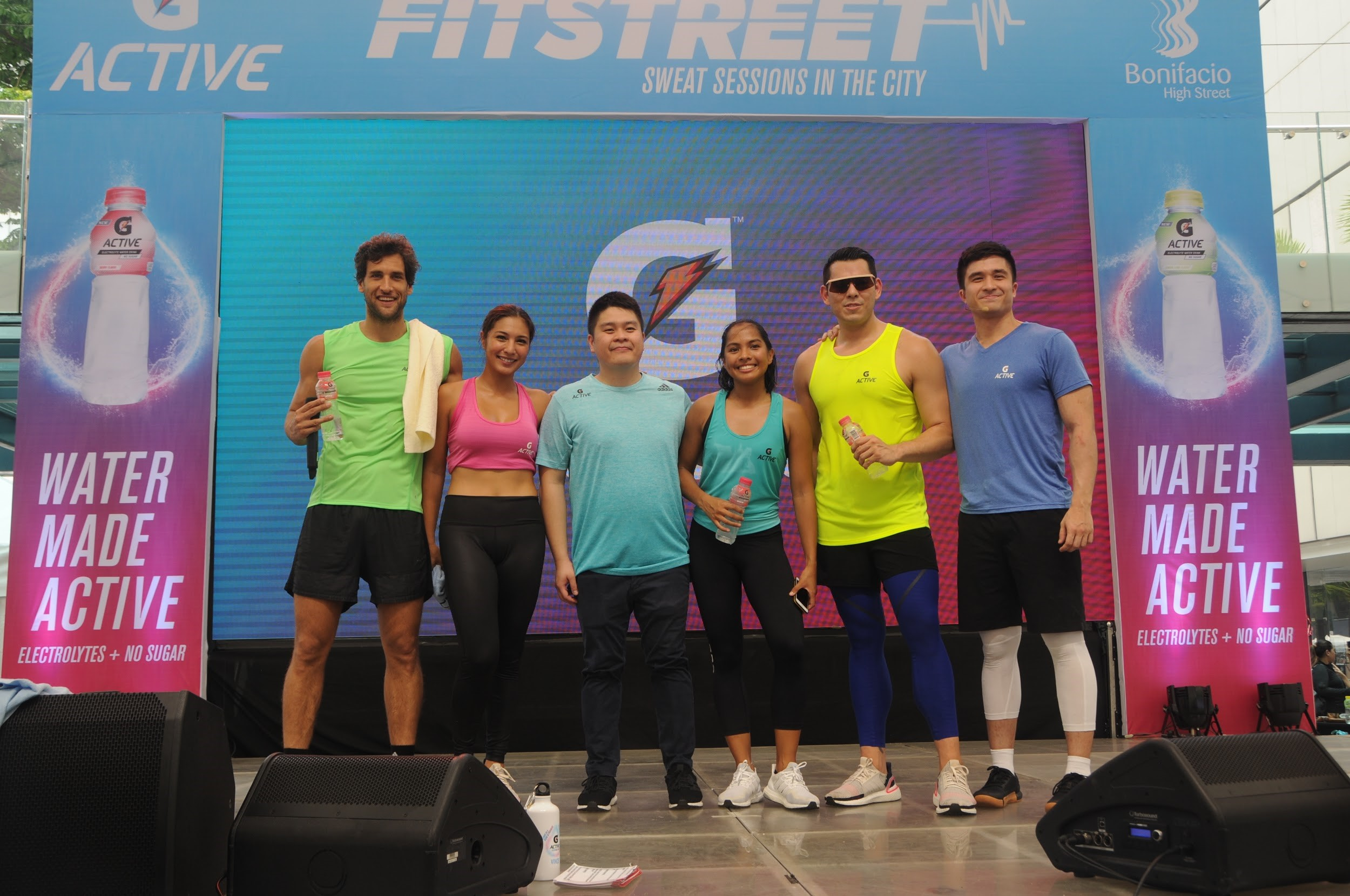 An All-Star BGC Fitstreet 2019 with G Active