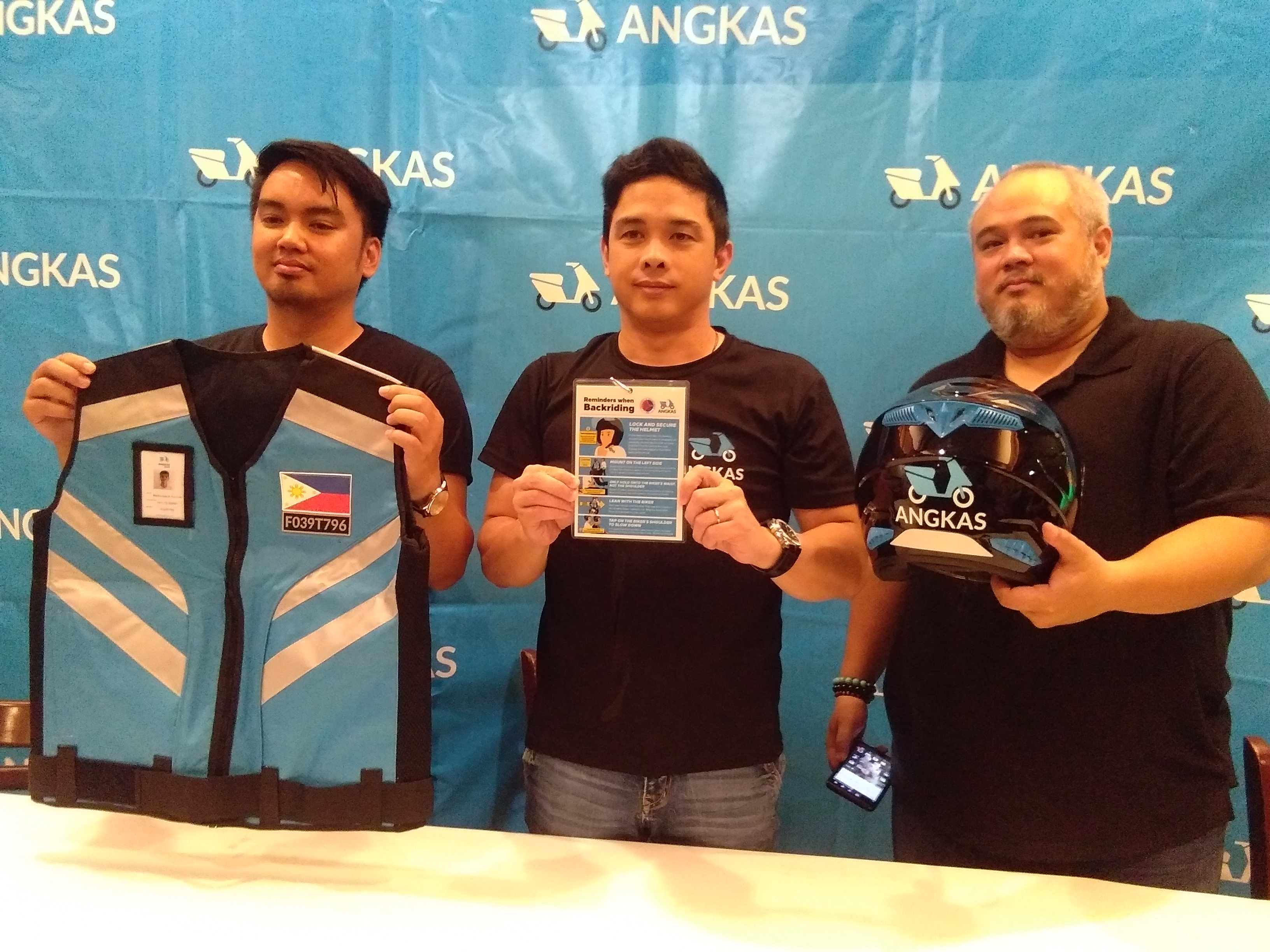 Angkas Retrains and Readies Riders with New Vests For Pilot Run
