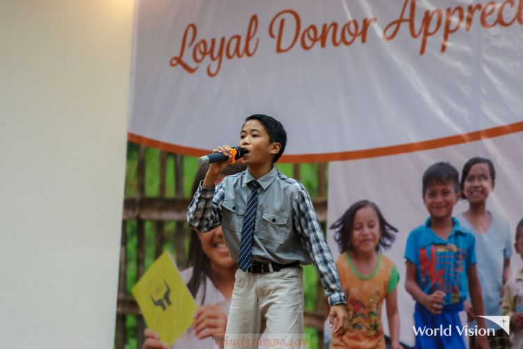 The Lion King Musical's JJ Dolor is the New World Vision Ambassador