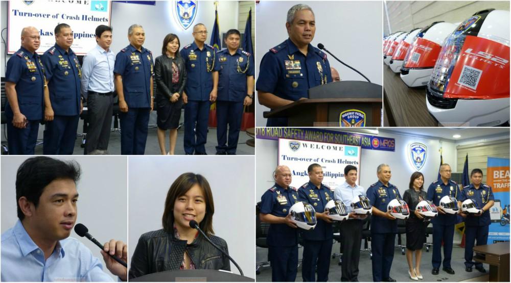 PNP-HPG C/Supt. Roberto Fajardo Considers Angkas a Partner To Promoting Road Safety