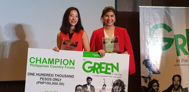 Ateneo Wins the Go Green in the City 2019 Philippine Country Finals