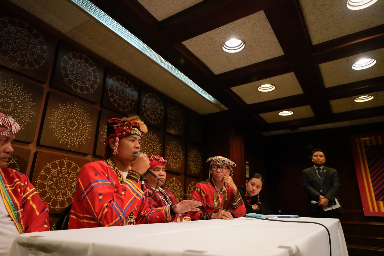 Filipino Tribal Leaders Gains Support From US-Based Pinoys Against the CPP-NPA