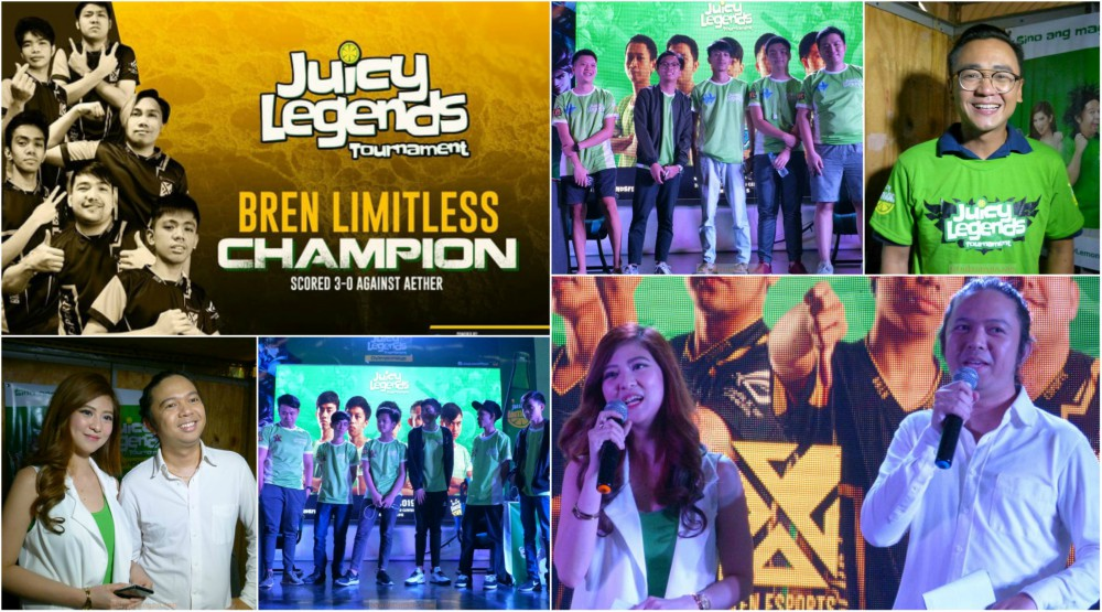 Bren Limitless is the First Juicy Legends ML Tournament Pro-Division Champ