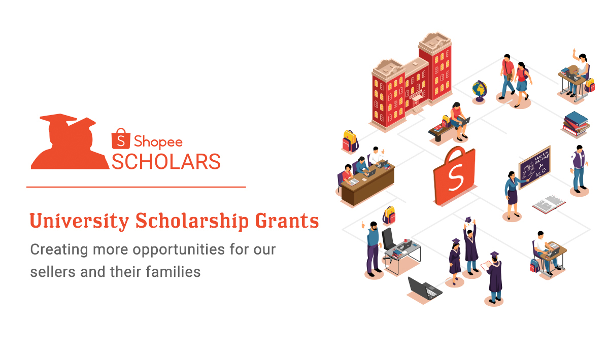 Shopee to Award University Scholarship Grants to Eligible Sellers