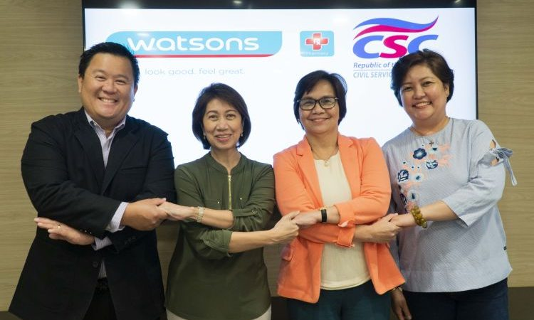 Watsons Joins Civil Service Commission's RACE TO SERVE Fun Run Event