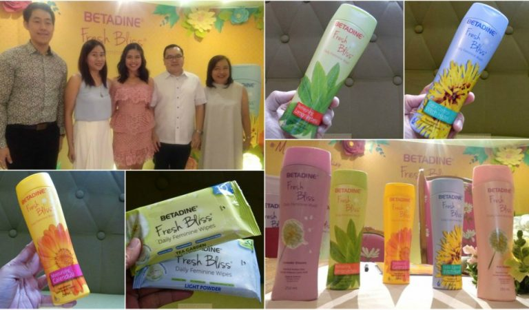 Maine Mendoza Champions Self-Love with Three New All-Natural BETADINE Fresh Bliss Feminine Wash Variants