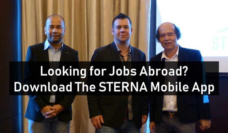 Looking For Jobs Abroad? Download The STERNA Mobile App