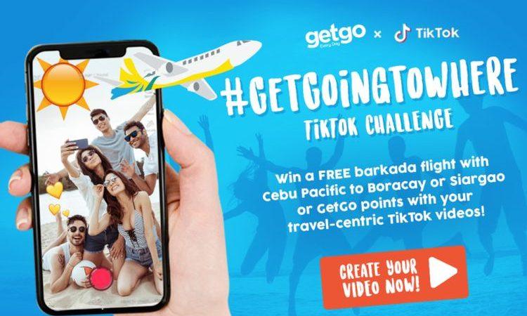 Barkada Flights For Free with the #GetGoingToWhere TikTok Challenge
