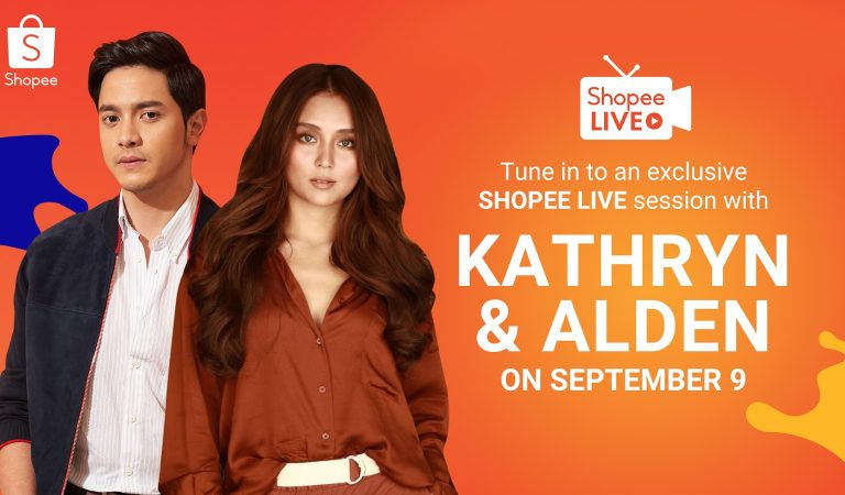 Shopee Reunites Kathryn Bernardo and Alden Richards to Celebrate 9.9 Super Shopping Day