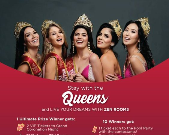 Picture This! 3 Days and 2 Nights at Zen Rooms with Beauty Queens