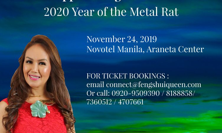 The 15th Philippine Feng Shui Convention for The 2020 Year of the Metal Rat