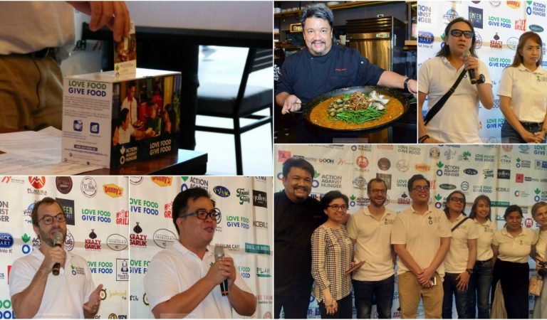 Food Establishments Unite For Love Food Give Food Campaign Philippines