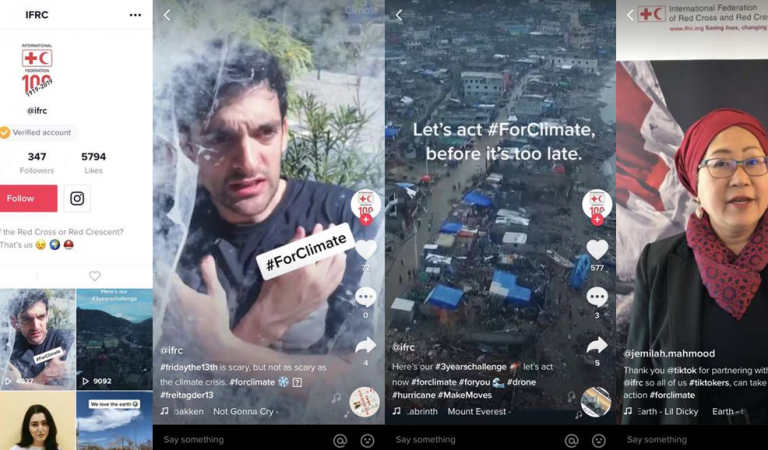 TikTok Partners with IFRC to Raise Awareness on Climate Change
