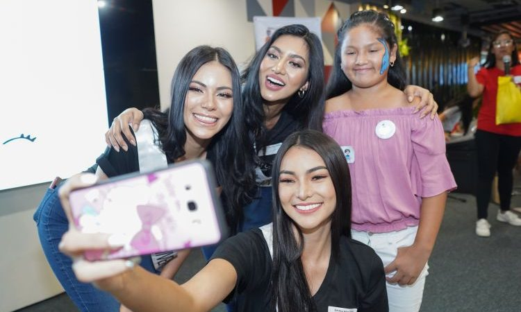 Bb Pilipinas 2019 Beauty Queens Celebrates World Smile Day with Smile Train Kids