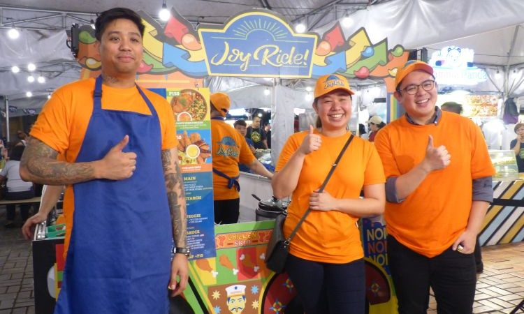 NutriAsia Launches The JoyRide! Pop Up Food Stall at Mercato Centrale BGC and Glorietta