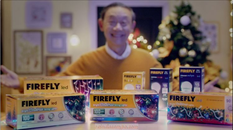 Jose Mari Chan with Firefly LED Wishes Everyone a Safer and Brighter Christmas in New Video