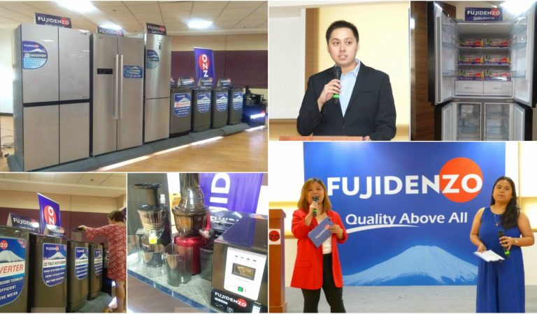 FUJIDENZO Introduces New Line of Inverter Refrigerators, Full Auto Washers, Slow Juicers and AVRs
