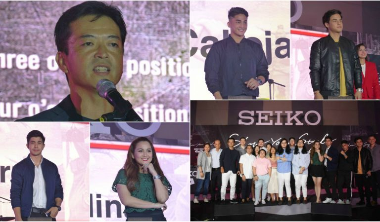 Seiko 5 Sports Relaunches in the PH, Introduces 5 New Celebrity Ambassadors