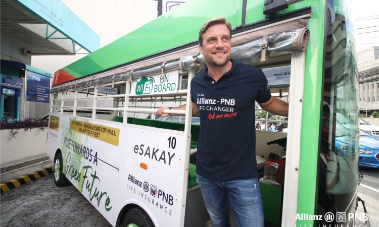Allianz PNB Life Partners with eSakay, Sponsors 7 E-Jeepneys