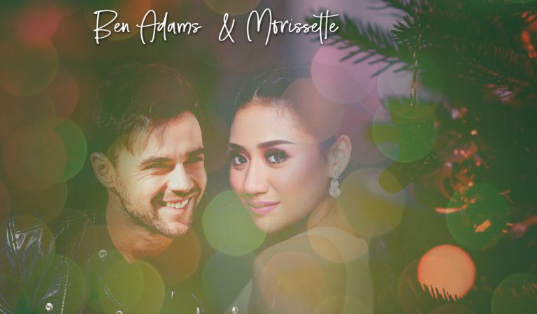 Morissette Duets With A1's Ben Adams For a New Christmas Anthem