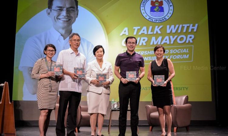 A TALK WITH YORME | Mayor Isko Shares Visions with FEU Students