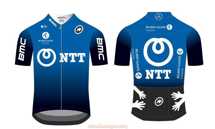 UCI WorldTour Team Dimension Data is Now NTT Pro Cycling
