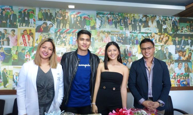 Celebs Jenzel Angeles and Prince Clemente are the New Faces of The Perfect Beauty