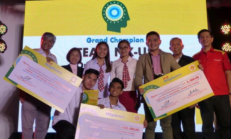 Oriental Mindoro National High School Wins Pilipinas Shell NXplorers: The Bright Ideas Challenge