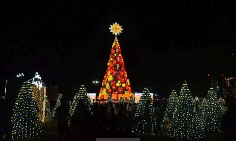 The Firefly LED 75Ft Giant Christmas Tree at SM By The Bay is Now a Forest of Lights