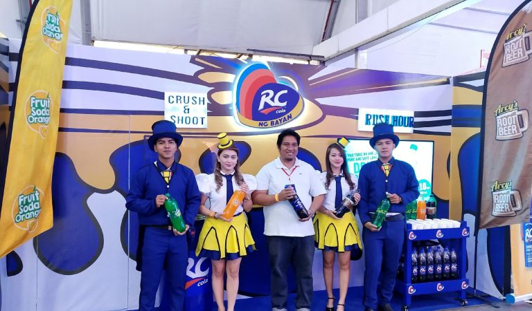 ARC Refreshments Corporation (RC Cola) Offers Flavorful Treats at Ultramega Expo