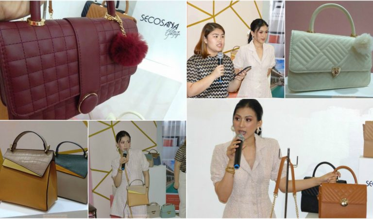 Secosana and Alex Gonzaga Collaborates For New Neomodern Bag Collection