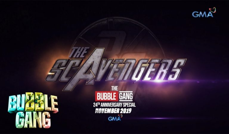 Bubble Gang 24 Presents THE SCAVENGERS, A 2-Part Superhero Telemovie Special