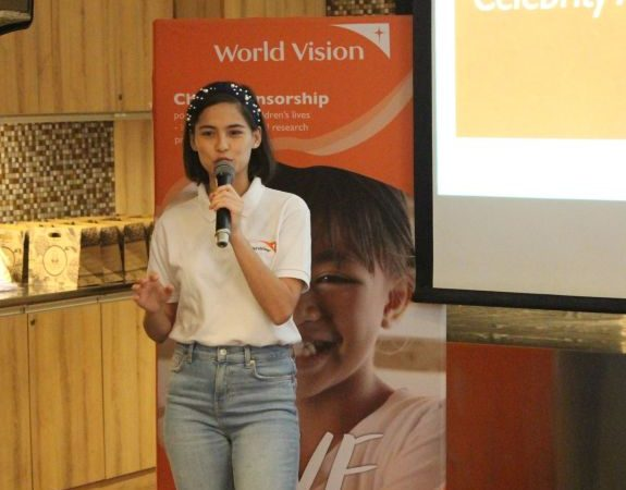 World Vision PH Ambassador Jasmine Curtis-Smith Serves Noche Buena With a Twist