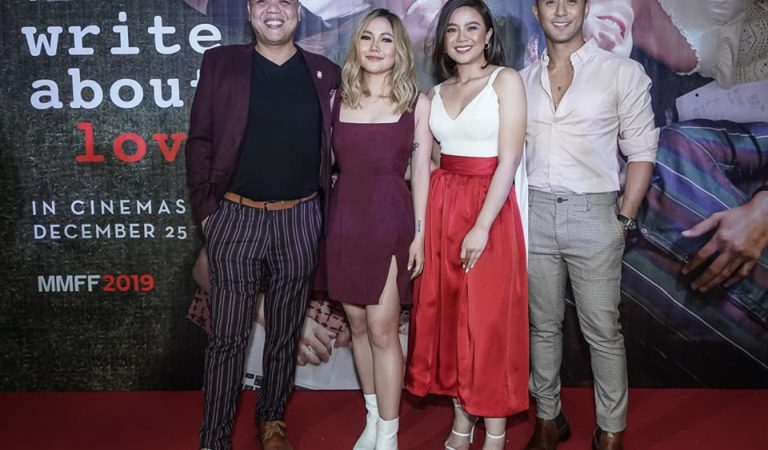 Write About Love is MMFF 2019's Must Watch RomCom Movie