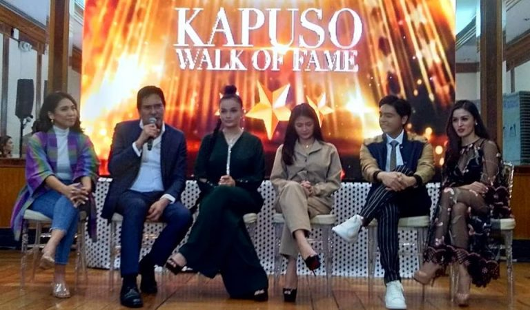 BiGuel, Kris Bernal, and Other Personalities Inducted to the Kapuso Walk of Fame