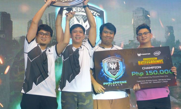 Predator League Hails Neon eSports and Miraculum Gaming as APACPL2020 PH Champions