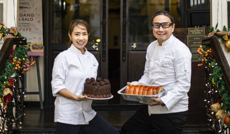 Chef Laudico Guevarra's Handaan Kahit Saan Party Trays and Desserts