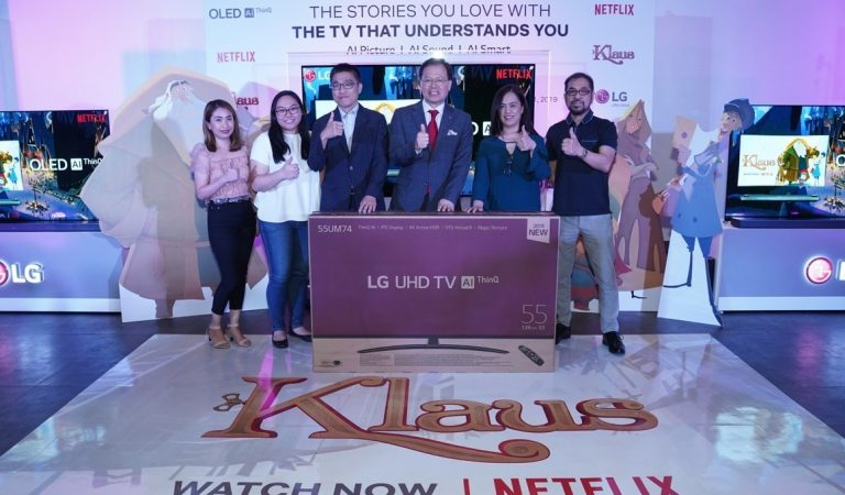LG Partners with Netflix for a Bigger, Better Christmas for All