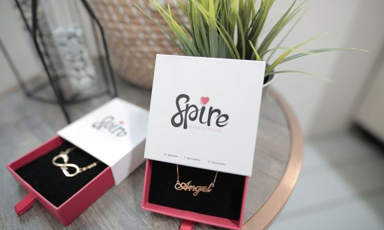 Gift-Worthy Personalized Necklaces and Rings From Spire Jewelry