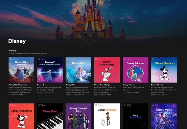 SouthEast Asia Disney Music Fans Rave About the Spotify Disney Hub