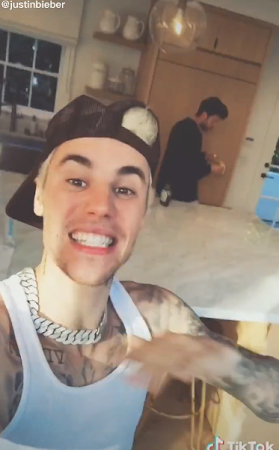 LOOK: Justin Bieber on TikTok
