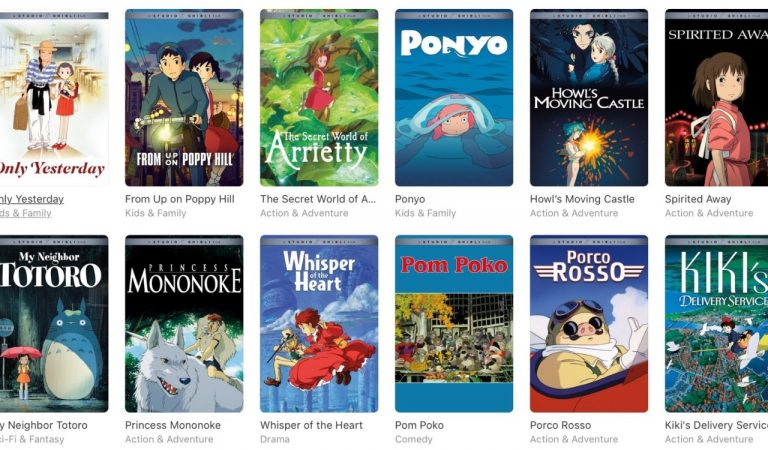 Netflix Announces Entry of 21 Studio Ghibli Films in their Library