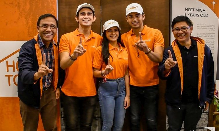 World Vision Hope Town with Bianca Umali, Inigo Pascual and Enzo Pineda