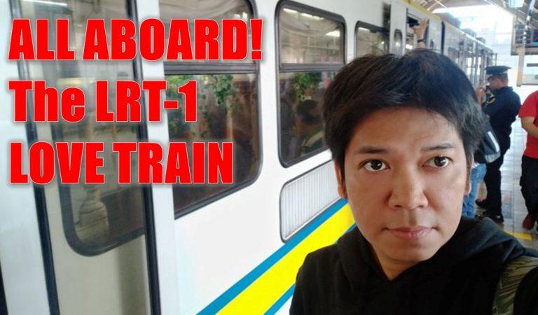 All Aboard! The LRT 1 Love Train