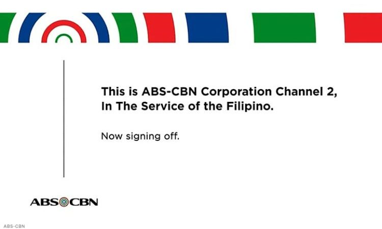 Kapamilya No More – ABS CBN is Now Signing Off!